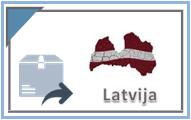 Siuntos Latvija pastomatus